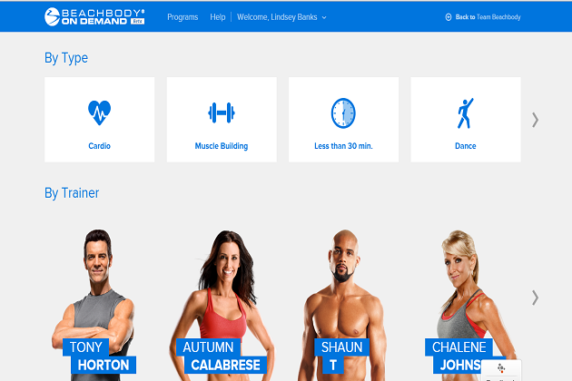 Beachbody On Demand Trainers