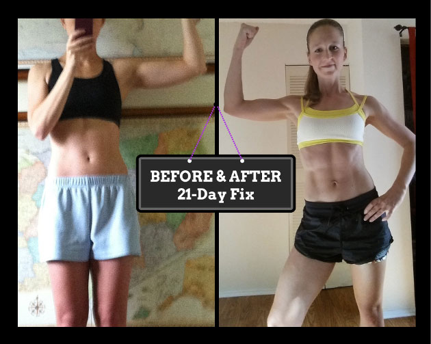 21-Day Fix Before and After Results
