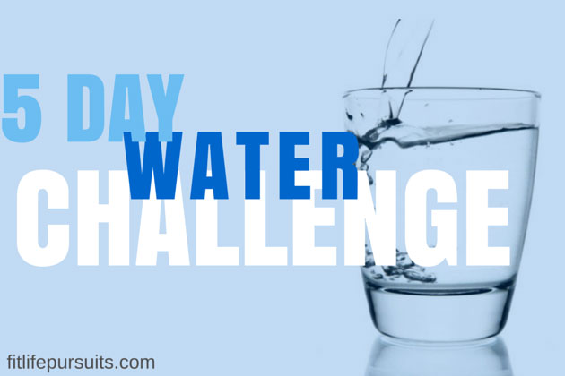 5-Day May Water Challenge
