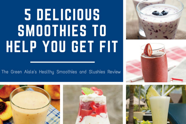 5 Delicious Smoothies To Help You Get Fit (And a Giveaway!)