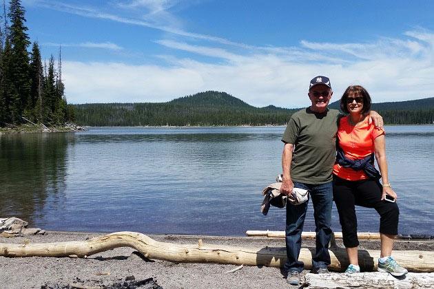 Elk Lake in June