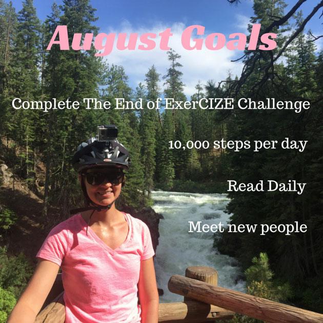 July Fit Life Goals