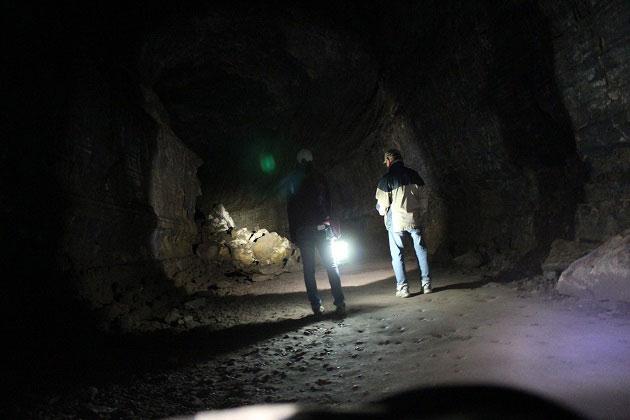 Lava River Cave Exploring