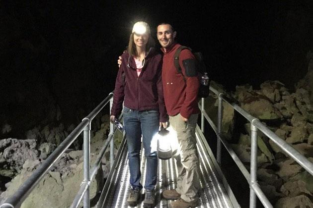 Lava River Cave Walkway