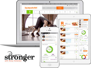 Livestrong Stronger Online Workout and App