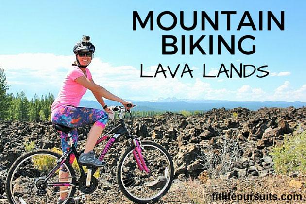 Mountain Biking through the Lava Lands