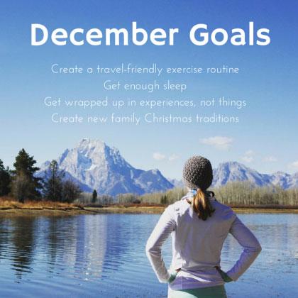 December Fit Life Pursuits Goals