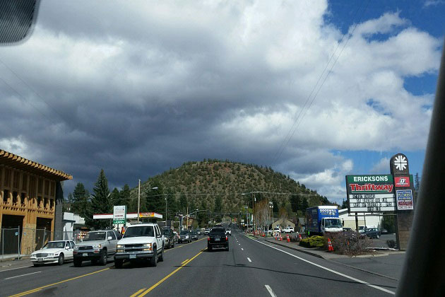 Pilot Butte from the city of Bend