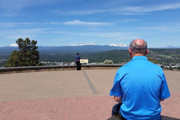 Sitting atop Pilot Butte