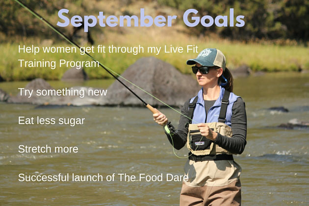 Fit Life Pursuits September Goals