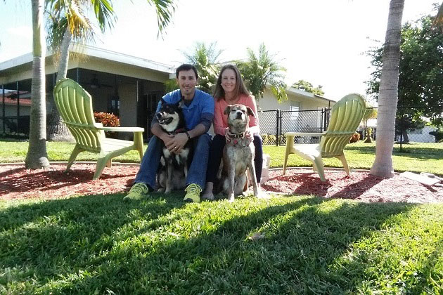 Thanksgiving in Florida with dogs