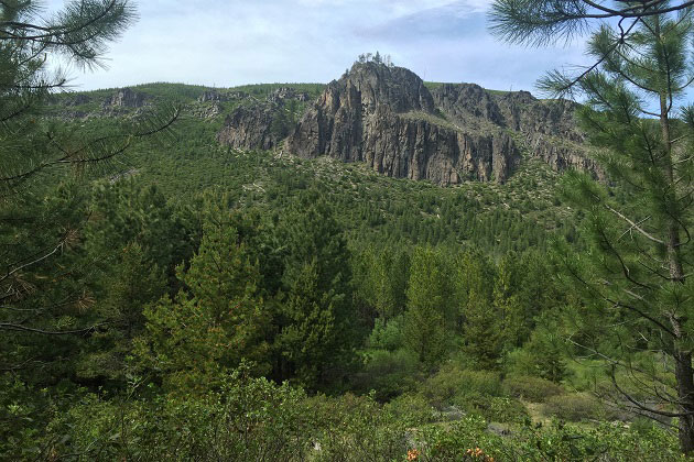 Tumalo Falls Trail Lookout