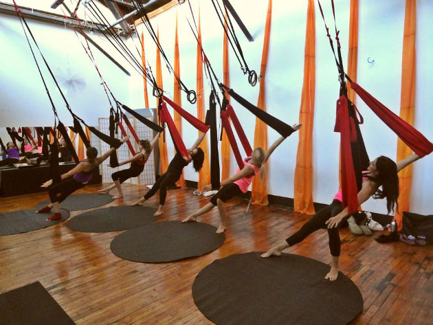 Aerial Fitness Yoga for Women