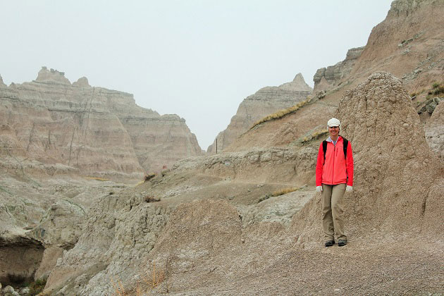 Notch Trail at Badlands National Park