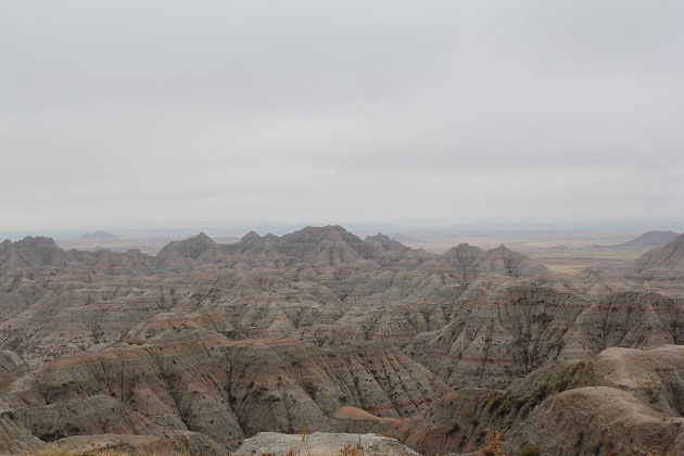 Badlands National Park Dunes