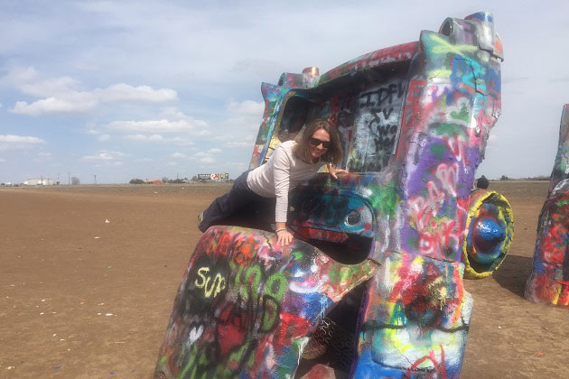 Cadillac Ranch Plank