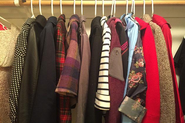 Closet Full Of Jackets