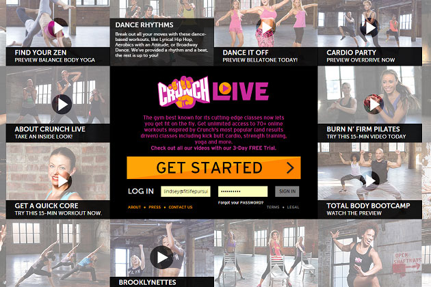 Crunch Live Workouts