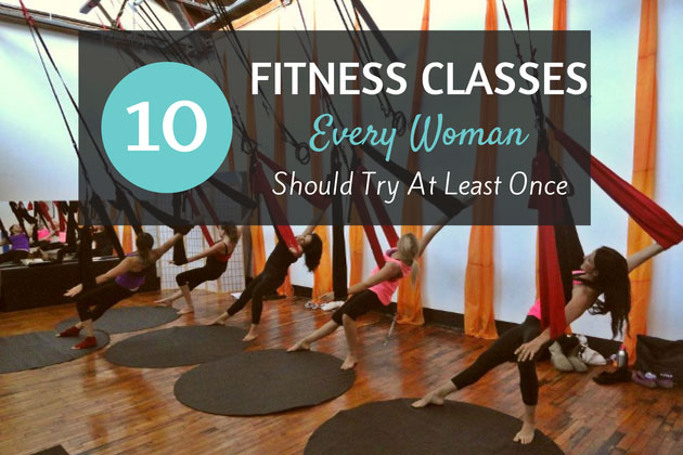 Fitness Classes Every Woman Should Try
