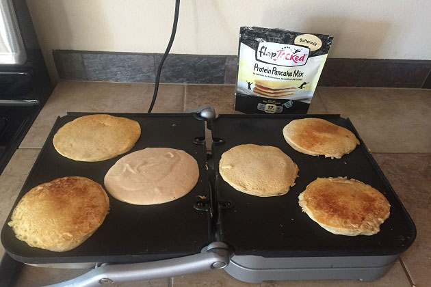 Flap Jacked Pancakes Finished
