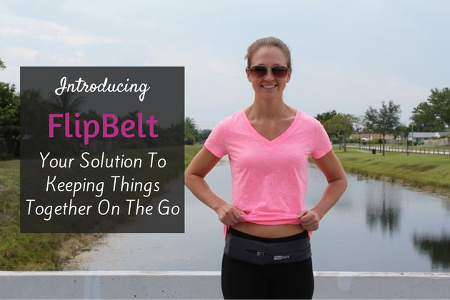 The Solution for Keeping your Stuff Together On The Go: The FlipBelt