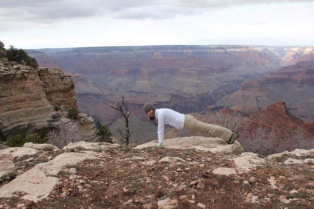 Grand Canyon Plank