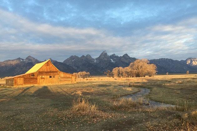 Grand Teton Cabin
