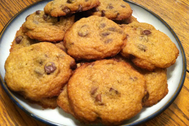Health(ier) chocolate chip cookies
