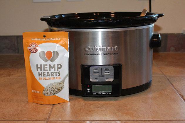Hemp Hearts Pumpkin Oatmeal