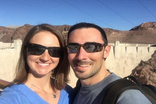 Hoover Dam Selfie