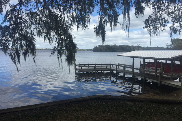 Lake Talquin boat dock
