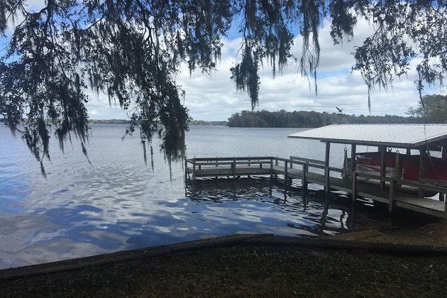 Lake Talquin boat dock