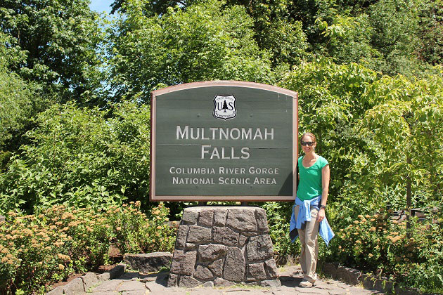 Multnomah Falls Trailhead