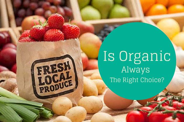 Organic versus fresh