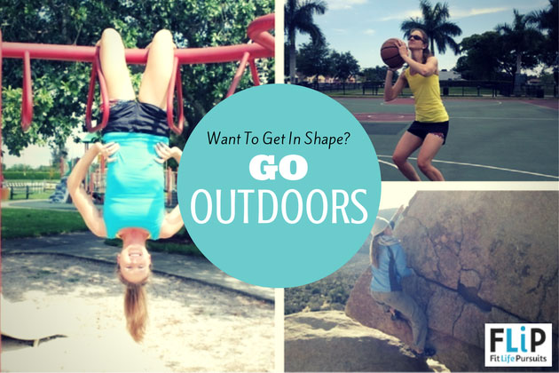 How to get in shape outdoors