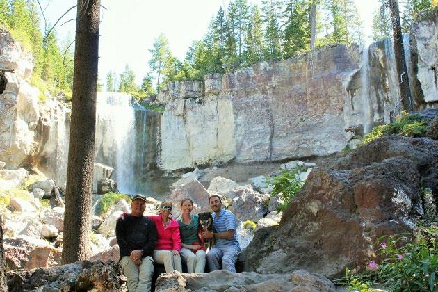 Paulina Falls Family Hike