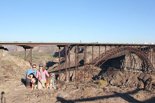 Perrine Bridge Twin Falls