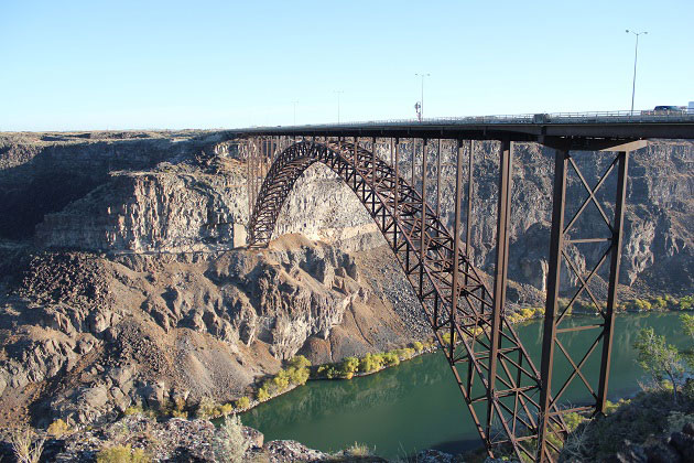 Perrine Bridge at Snake River Canyon