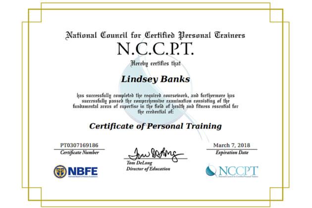Lindsey Banks N.C.C.P.T.