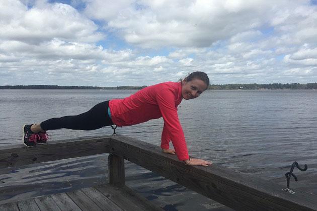 Plank at Lake Talquin