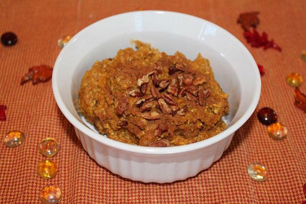 Pumpkin Protein Oatmeal