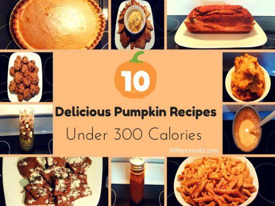10 Delicious Pumpkin Recipes Under 300 Calories