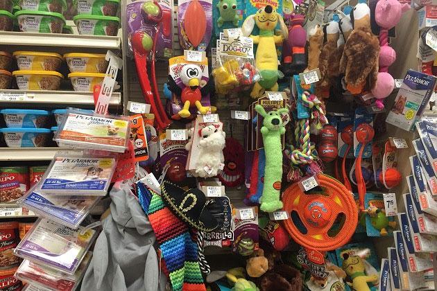 Safeway Dog Toys