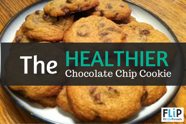 How to make a healthy chocolate chip cookie