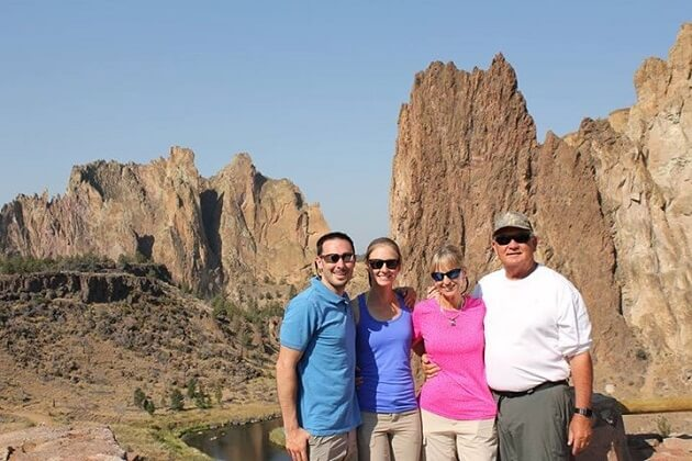 Smith Rock Family Hike
