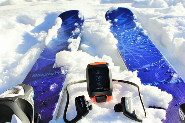 TomTom Adventurer Review for Skiing