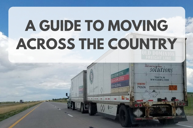 A Guide to Moving Across The Country (Again)