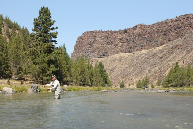 Fly Fishing in Oregon